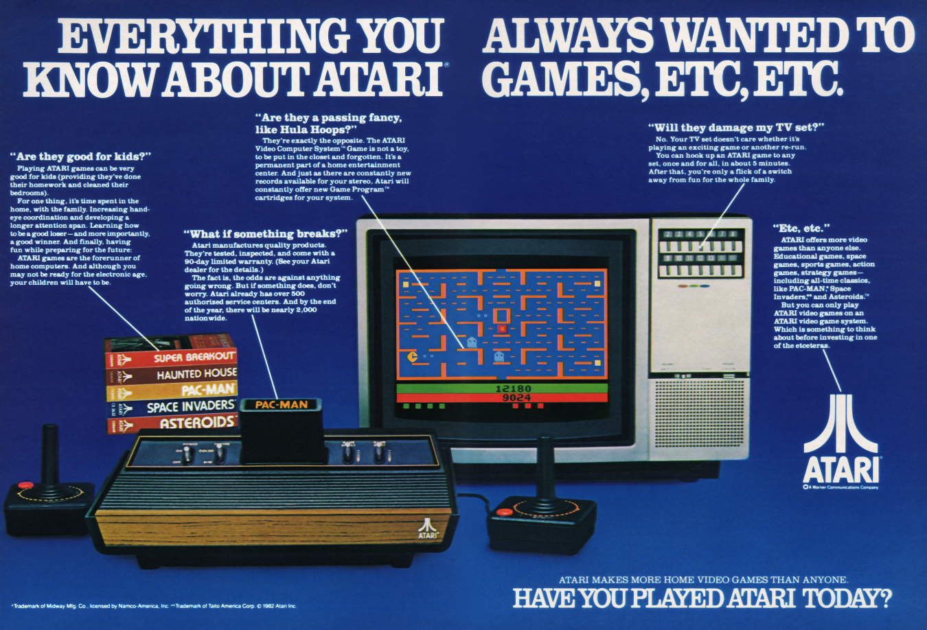 Atari's Promise Means It's Not Cheating